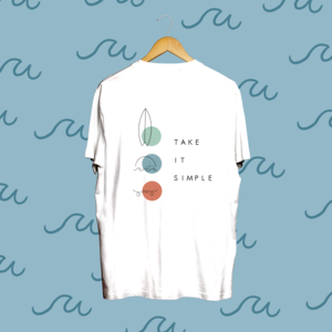 """Tee Limited Edition """"EASY"""" - Bianca"""