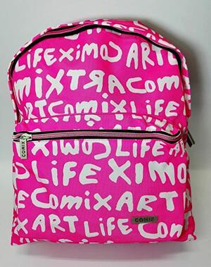"Zaino COMIX rosa linea ""LIFE ART"""