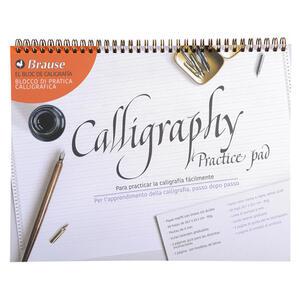 Blocco Calligrafia - blocco pratica in lingua italiana