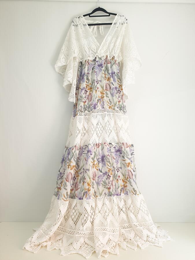 PHOEBE BOHO MATERNITY DRESS