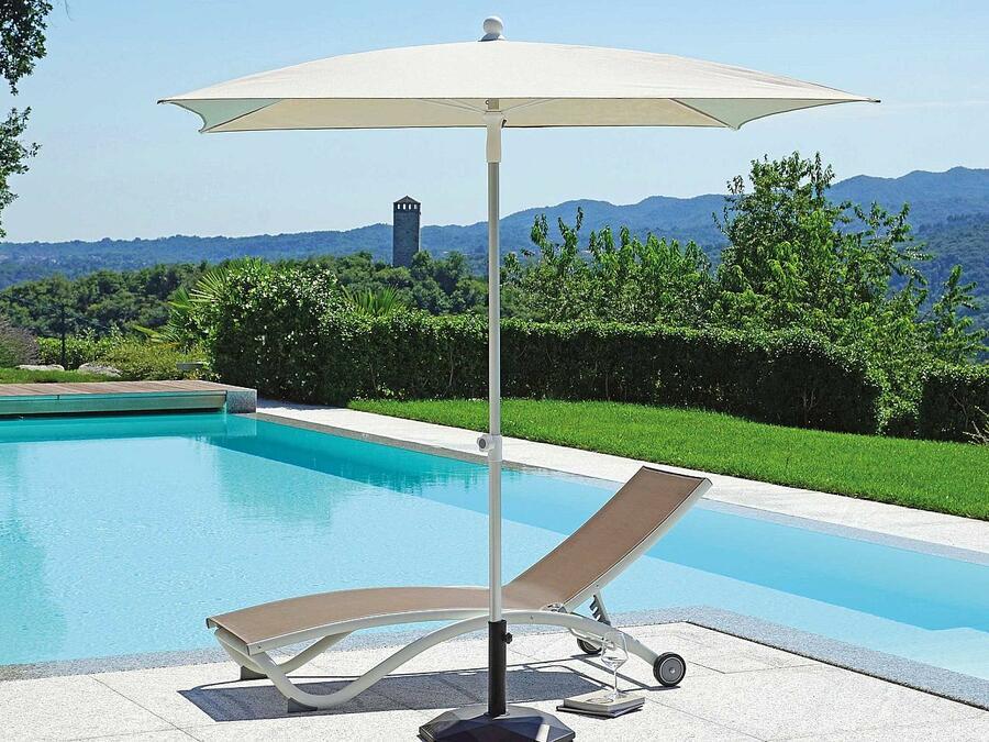 Ombrellone Quadrato 2 x 2 mt In Alluminio Con Palo Centrale OLIMPO COD G 962