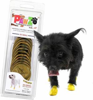 Pawz Mimetiche XXS Scarpe Per Cani Protezione Polpastrelli Zampe Scarpette