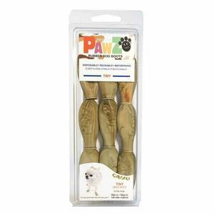 Pawz Mimetiche Tiny XXXS Scarpe Per Cani Protezione Polpastrelli Zampe Scarpette