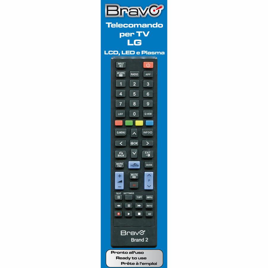 BRAVO Telecomando Universale LG