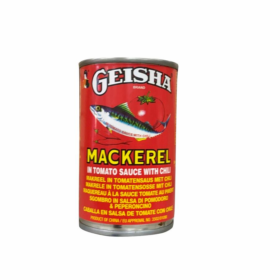 GEISHA MACKEREL TOM+CHILI 155GR