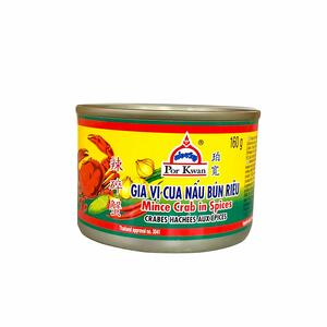 PKW MINCE CRAB IN SPICES 160GR