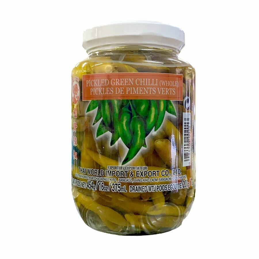 CQ PEPERONCINI VERDE SOTTACETO  454GR