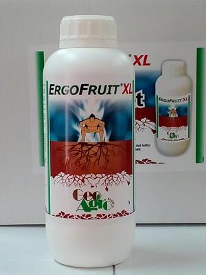 ErgoFruit XL aminoacidi per trattamenti fogliari flacone da 1 litro