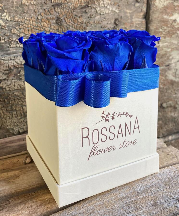 FLOWER BOX Q12 Rossana Collection BLU