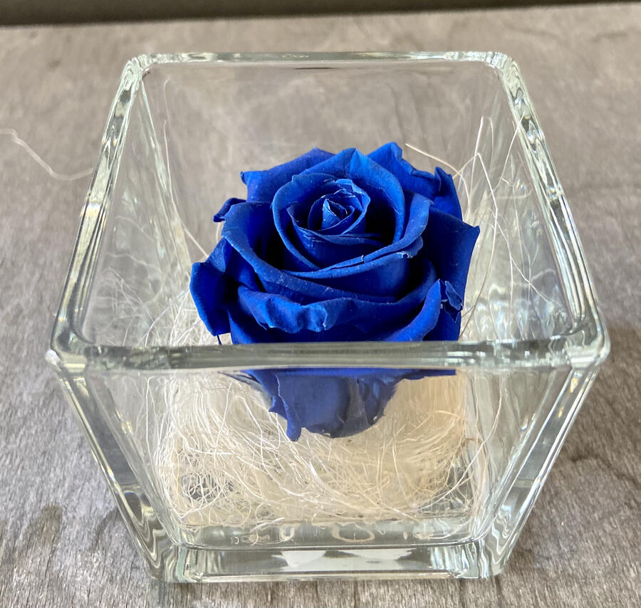 FLOWER CUBEttino Rossana Collection BLU