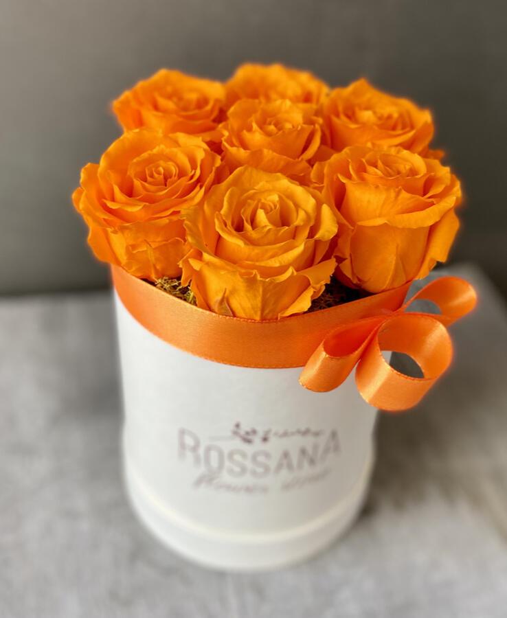 FLOWER BOX T7 Rossana Collection ARANCIO