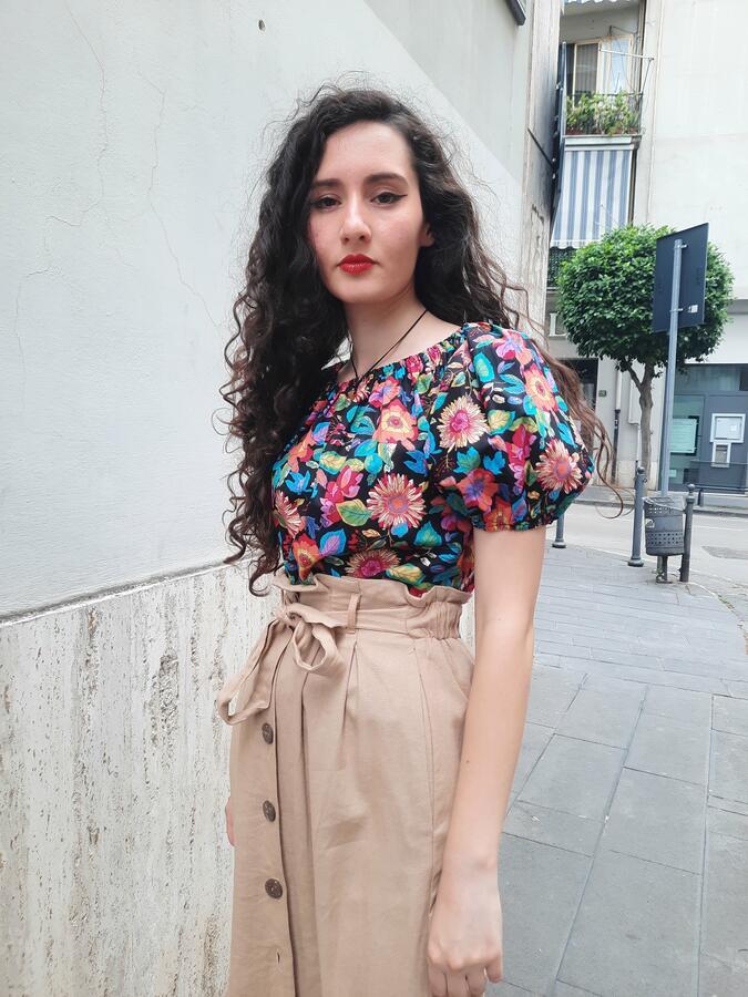 Blusa Tropical