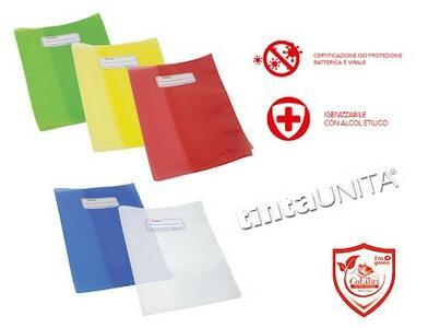 COPRIMAXI A4 COPERTINA COVER SYSTEM ECO SHIELD COLIBRI' TINTAUNITA