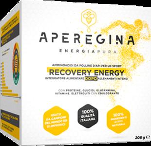 RECOVERY ENERGY - Aminoacidi da polline d'api - 20 buste da 10,4 g