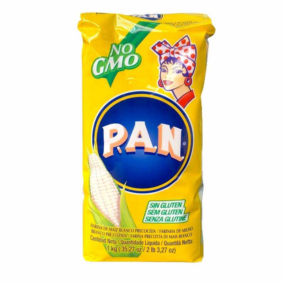 PAN HARINA MAIS BIANCO 1KG