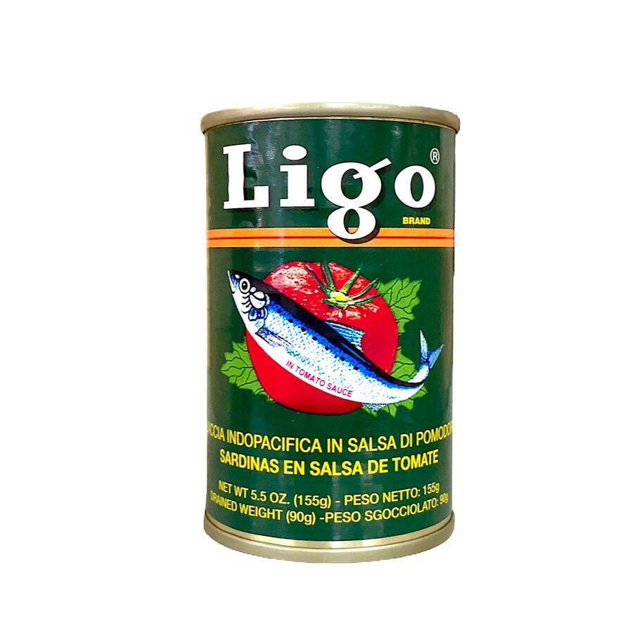 LIGO SARDINE TOMATO 155GR