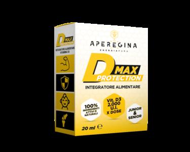 D-MAX PROTECTION - Vitamina D3 in olio evo - 1 confezione da 20 ml - 40 dosi
