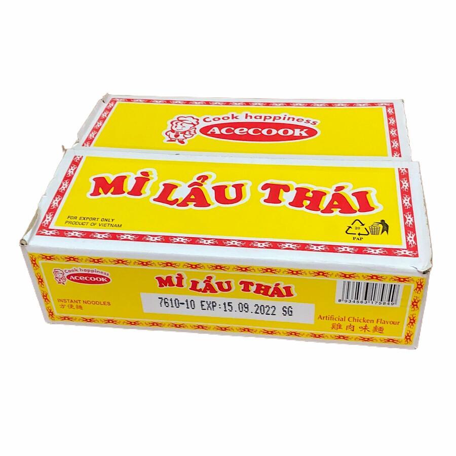 ACK INSTANT NOODLES CHICKEN  (MI LAU THAI) 30X78GR