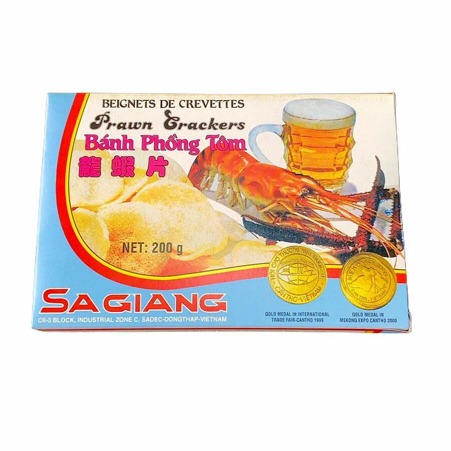 SA GIANG PRAWN CRACKERS - CHIPS DA FRIGGERE 200GR