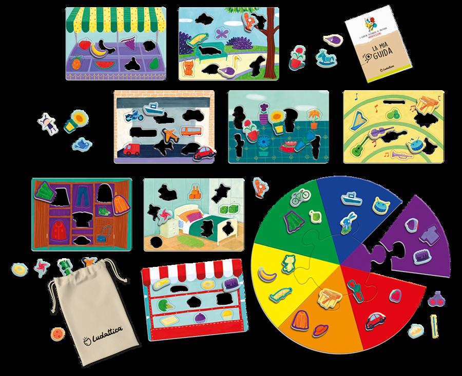 Giochiamo! Il metodo Montessori in una scatola