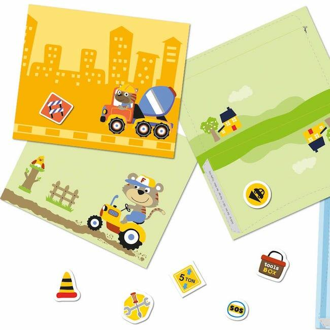 Creative stickers - Happy Workers