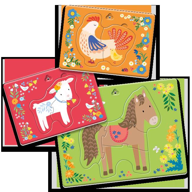 Dudù frame - Farm animals