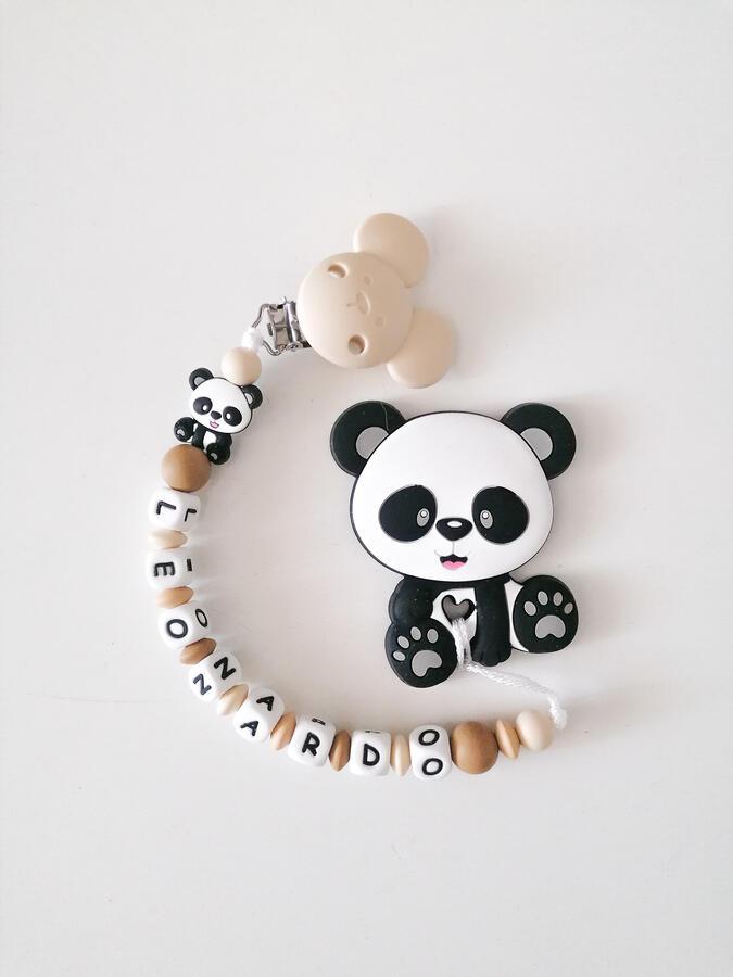 Panda beige e caffè