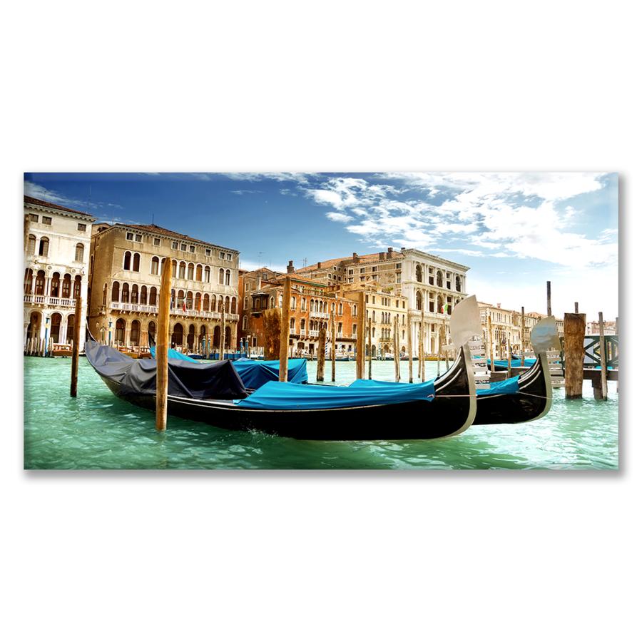 Quadro Due Gondole a Venezia