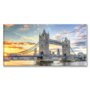 Quadro tramonto sul Tower Bridge