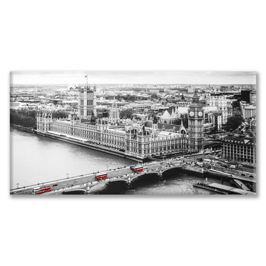 Quadro Vista dall'alto di Westminster e il Big Bang
