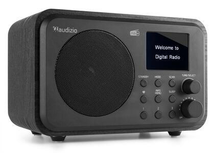 RADIO DAB+ MILANO CON BATTERIA NERA