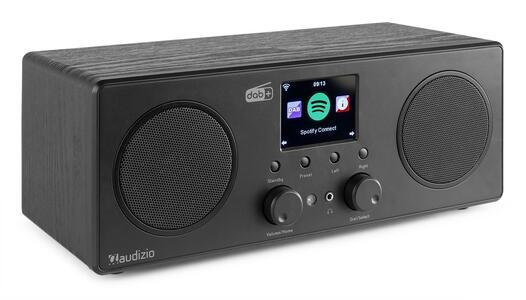 BARI WIFI INTERNET STEREO RADIO CON DAB+ BLACK