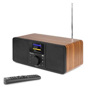 ROMA WIFI INTERNET STEREO DAB+ RADIO WOOD