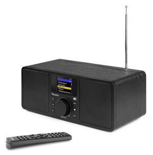 ROMA WIFI INTERNET STEREO DAB+ RADIO NERO