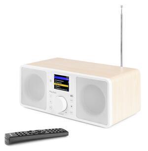 ROMA WIFI INTERNET STEREO DAB+ RADIO BIANCO