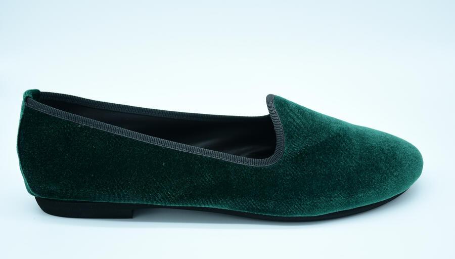 Friulana verde in velluto tonda