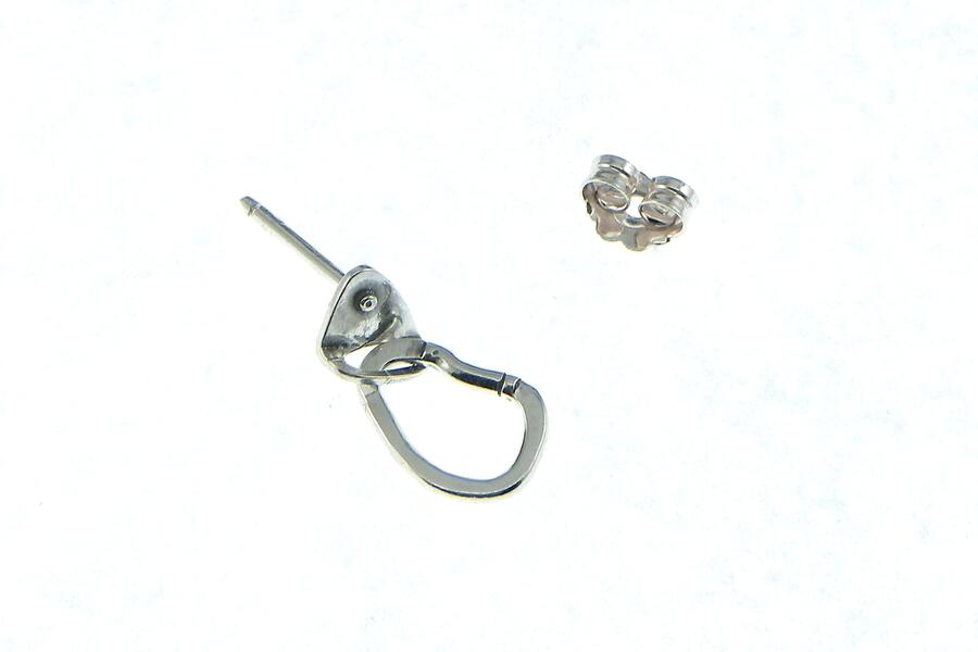Single Earring Carabiner + Spit small