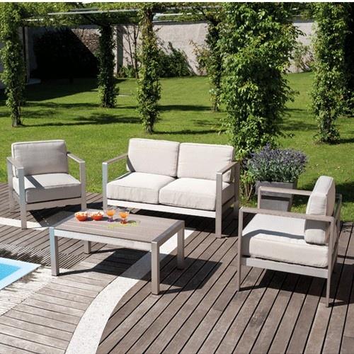 Set giardino coffee set levanto divano 2 poltrone tavolino for Set giardino esterno