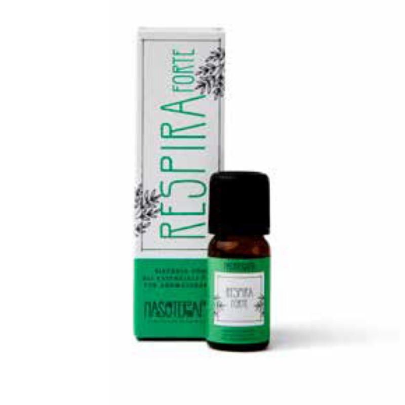 Nasoterapia - Respira forte Sinergia con oli essenziali