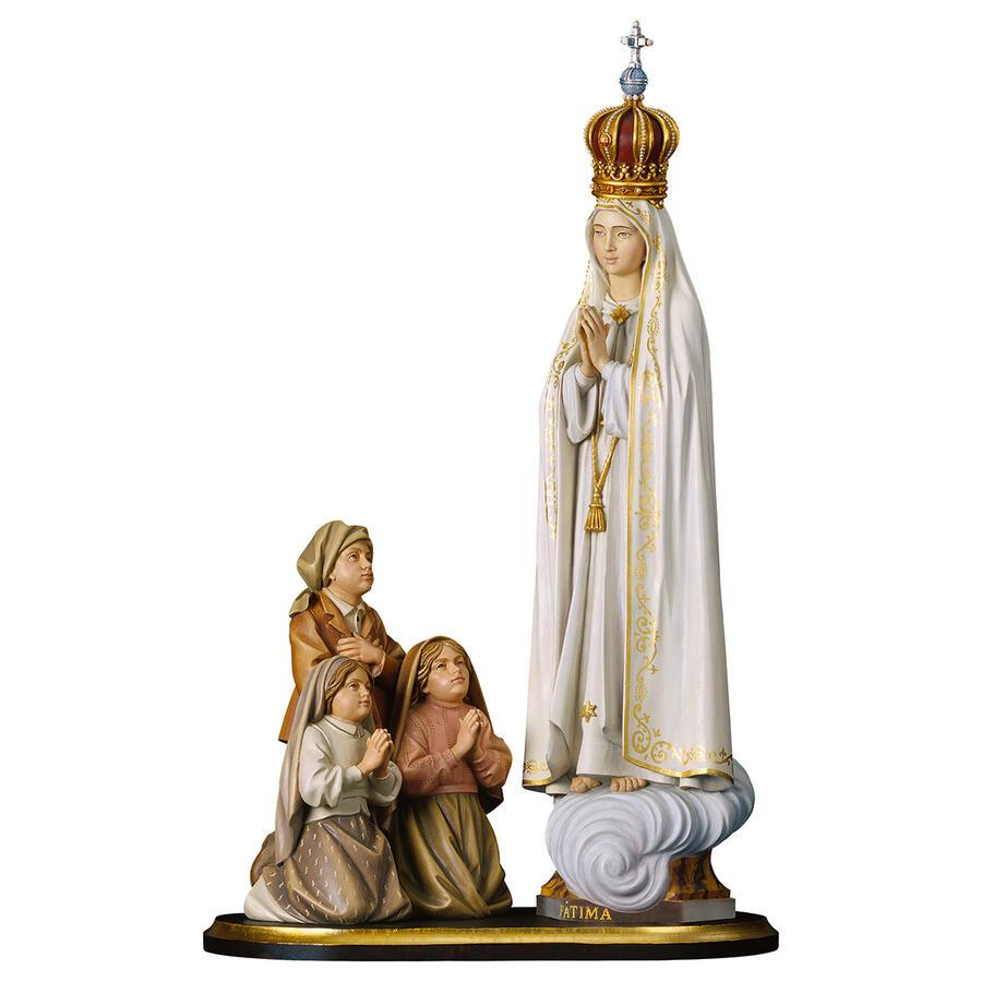 Gruppo Apparizione di Fátima Capelinha con corona