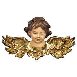 Angel head looking forward