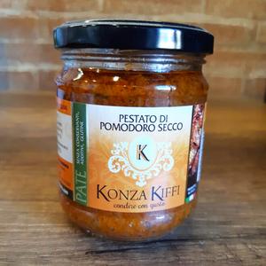 Pesto di pomodoro secco - Konza Kiffi