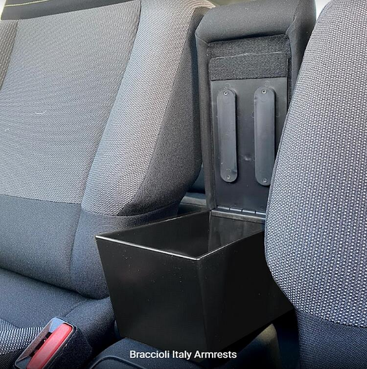 DELUXE adjustable armrest with storage for Citroen C3 (from 2017)
