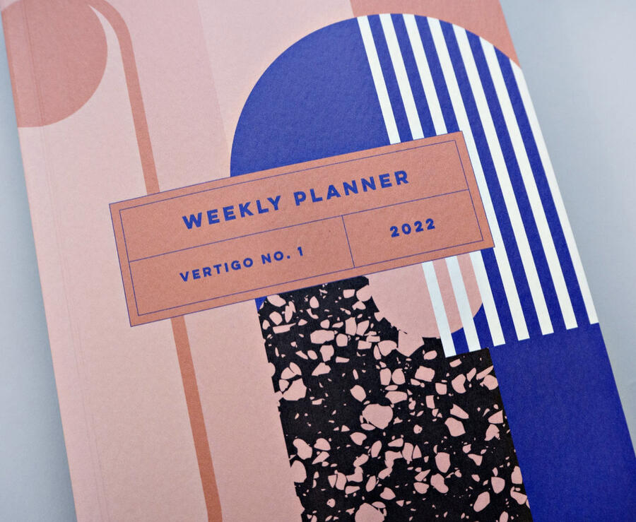 Weekly planner Vertigo.