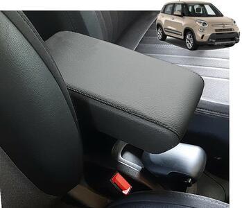 Accoudoir réglable en longueur avec porte-objet XXL pour Fiat 500L (2012-05/2017) et 500L Trekking