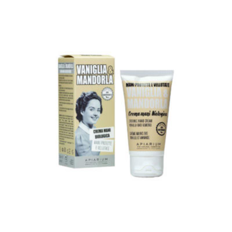 Apiarium - Vaniglia & Mandorla Crema mani Biologica