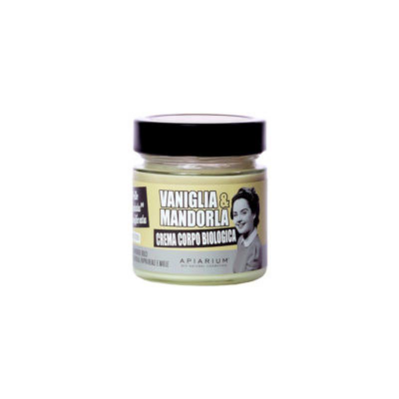 Apiarium - Vaniglia & Mandorla Crema corpo biologica