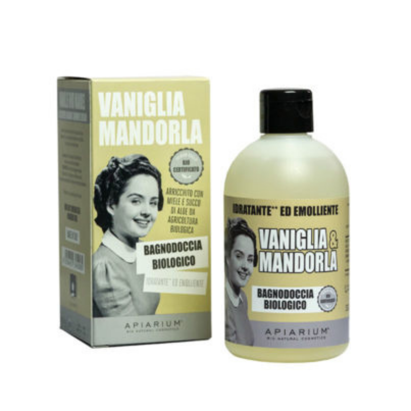Apiarium - Vaniglia & Mandorla Bagnodoccia biologico