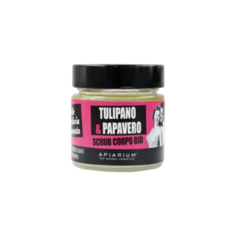 Apiarium - Tulipano & Papavero Scrub corpo bio