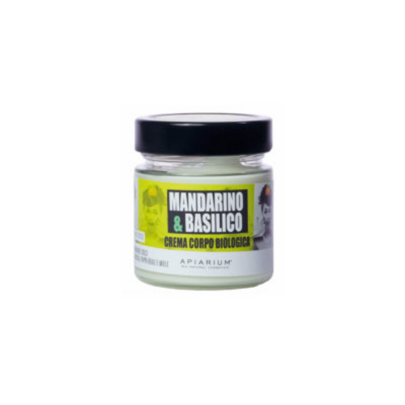 Apiarium - Mandarino & Basilico Crema corpo biologica